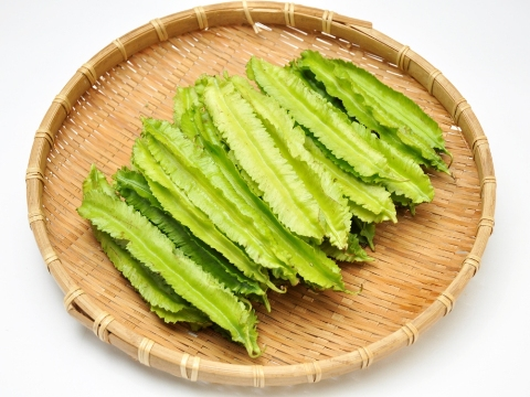 Urizun mame (winged bean)