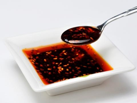 邊銀食堂的石垣辣油